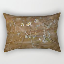 first blossoms Rectangular Pillow