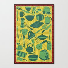 Kitchenware!  Canvas Print