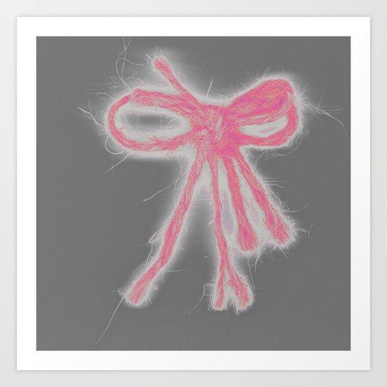 Bow 2 Art Print
