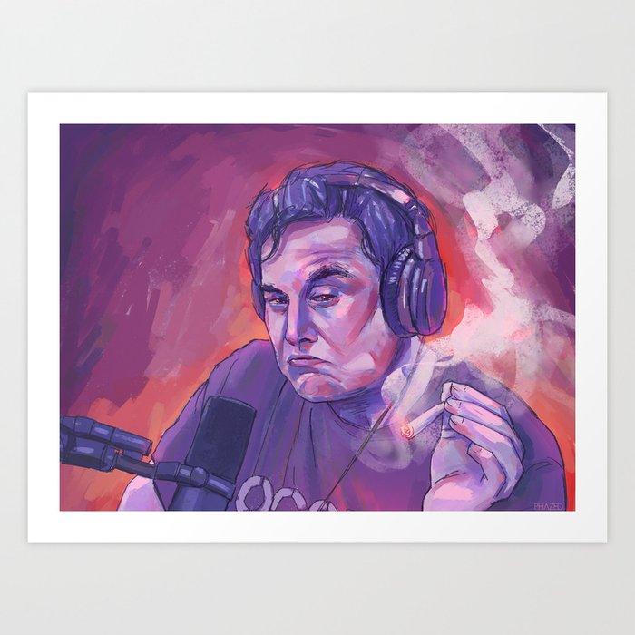 Elon Musk Kunstdrucke