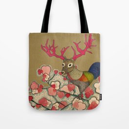 Chickedeer Blossoms Tote Bag