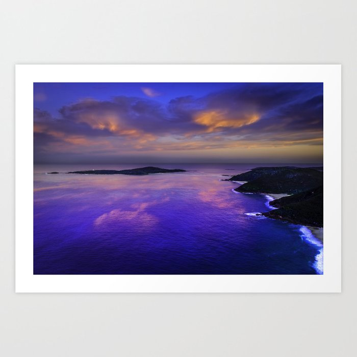 Shaol Bay Art Print