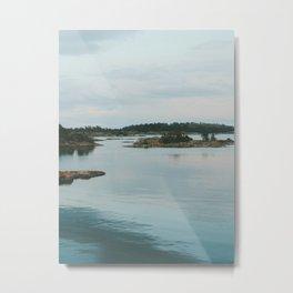Evening in the Archipelago Metal Print
