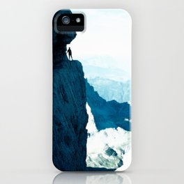 Almost there #Mountain #1 #art #society6 iPhone Case