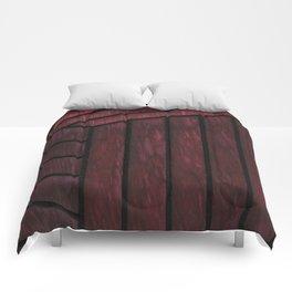 Crimson Cube Comforters