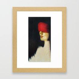 Mina Framed Art Print
