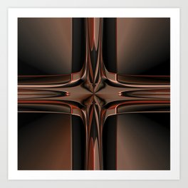 Abstract 350 Art Print