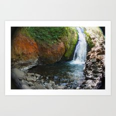 Bridal Veil Falls OR Art Print