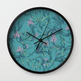 Mamba! in pastel tones Wall Clock