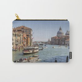 Venice - Grand Canal - Italy - Canal - Venetian - Boat. Little sweet moments. Carry-All Pouch