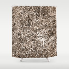 Grass Camo Shower Curtain