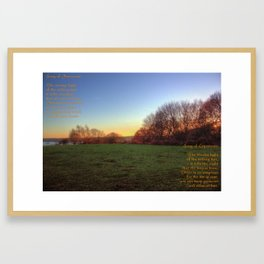 Idyll: Song of Innocence and Song of Experience Framed Art Print