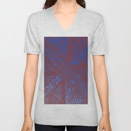 Trip to Morocco, direct to Marrakesh Unisex V-Neck
