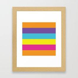 Gender Non-Binary Pride Framed Art Print
