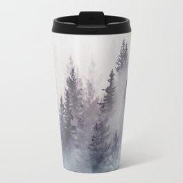 Winter Wonderland - Stormy weather Travel Mug