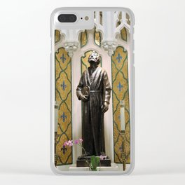 St. Patrick's Cathedral in Manhattan - St. Jude Clear iPhone Case