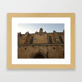 Historic Spanish Church Framed Art Print