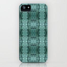 Ice Mandala Pattern iPhone Case