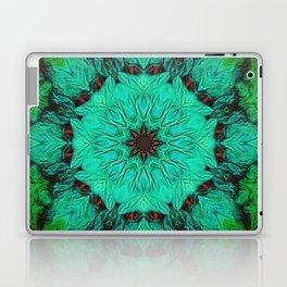 Green & Mint Mandala Laptop & iPad Skin