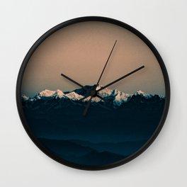 Darjeeling sunrise Wall Clock
