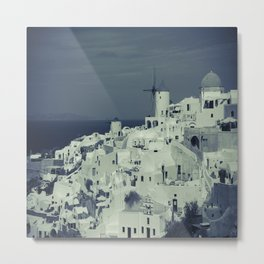 Santorini, Greece 2 Metal Print
