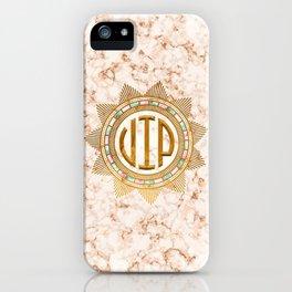 VIP – Gold multicolor iPhone Case