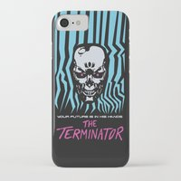 terminator iPhone & iPod Cases featuring The Terminator by Daniel Grushecky