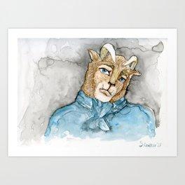 Beast Art Print