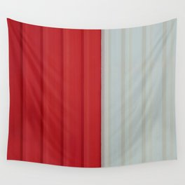 Pattern Red & White Wall Tapestry
