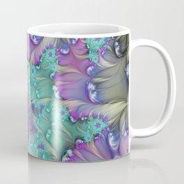 Find Yourself, Abstract Fractal Art Coffee Mug