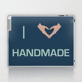I heart Handmade Laptop & iPad Skin