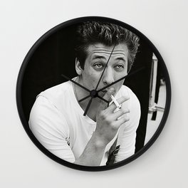 Jeremy Allen White Shameless Lip Gallagher Wall Clock