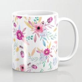 Watercolor Flowers Coffee Mug