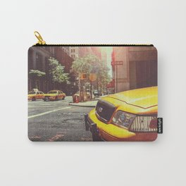NYC Taxi Cab Carry-All Pouch