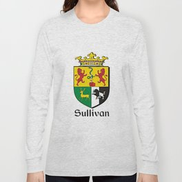 Family Crest - Sullivan - Coat of Arms Long Sleeve T-shirt