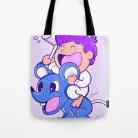 nemo Tote Bags featuring Nemo by bscorreiaart