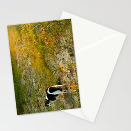 this miss in sunset I Stationery Cards