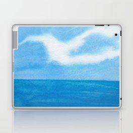 White Dove Sky Laptop & iPad Skin