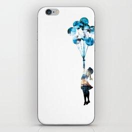 Banksy Balloon Girl iPhone Skin
