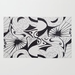 dance of nature Rug