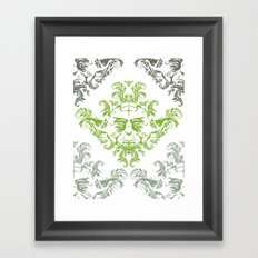 YODamask (Detail) Framed Art Print