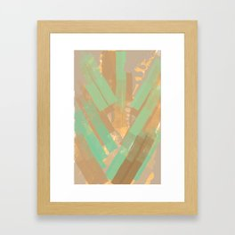Alligator Skin Framed Art Print