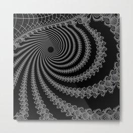 Troughs Inverted Metal Print