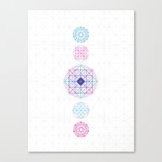 Geometric Mandalas Canvas Print