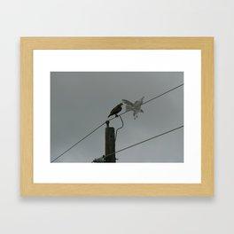 High-Spirited like a Hawk Springing into Flight Framed Art Print