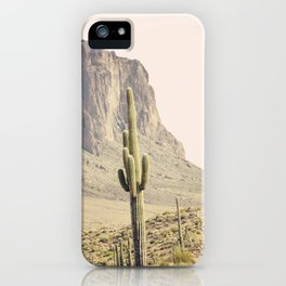 Superstitious Mountain iPhone Case