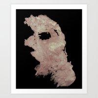 in the flesh Art Prints featuring Flesh by Vezper Art