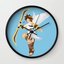 Pit(Smash) Wall Clock