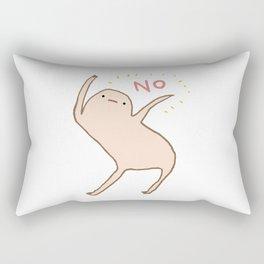 Honest Blob Says No Rectangular Pillow