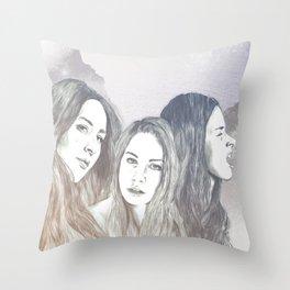 Haim Throw Pillow